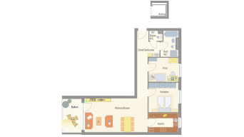 3 1/2 Zimmer Sachsenheim