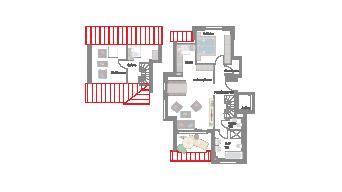 Möglingen 3 1/2 Zimmer Maisonette B7-6C