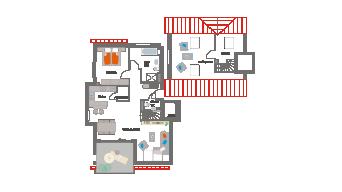 Markgröningen 3 1/2 Zimmer 6B