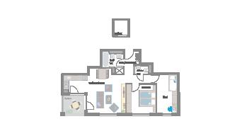 3 1/2 Zimmer in Leonberg