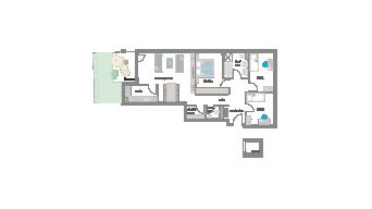 Murr 4 1/2 Zimmer 3E