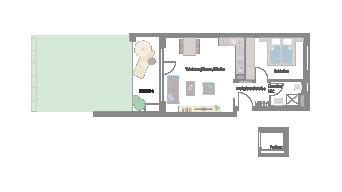 Murr 2 1/2 Zimmer 3F