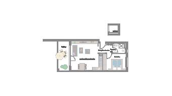 Murr 2 1/2 Zimmer 4E