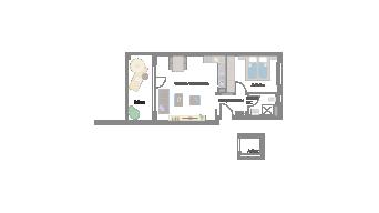 Murr 2 1/2 Zimmer 6F