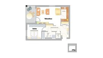 Sachsenheim 2 1/2 Zimmer 6A