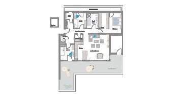 Leinfelden-Echterdingen 4 1/2 Zimmer S7- 15A