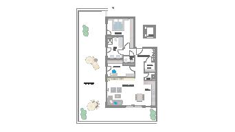 Leinfelden-Echterdingen 3 1/2 Zimmer S7- 16