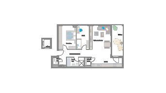 Leinfelden-Echterdingen 3 1/2 Zimmer S7- 3A