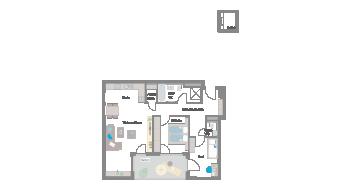 Leinfelden-Echterdingen 3 1/2 Zimmer S7- 5A