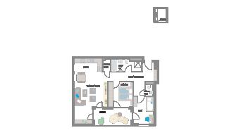 Leinfelden-Echterdingen 3 1/2 Zimmer S7- 05