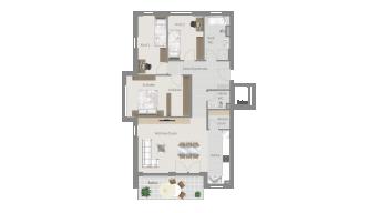 Sachsenheim 4 1/2 Zimmer F8 - 4A