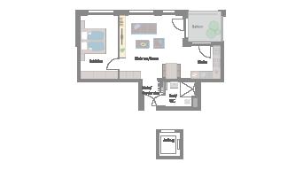 Leonberg 2 1/2 Zimmer D9-5C