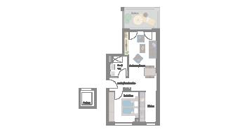 Leonberg 2 1/2 Zimmer D9-6C