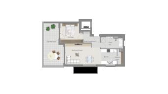 Sachsenheim 2 1/2 Zimmer Q7-09