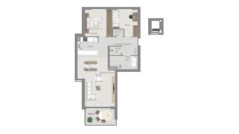 Sachsenheim 3 1/2 Zimmer H8 - 6D