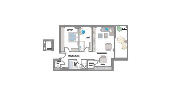 Leinfelden-Echterdingen 3 1/2 Zimmer S7- 07