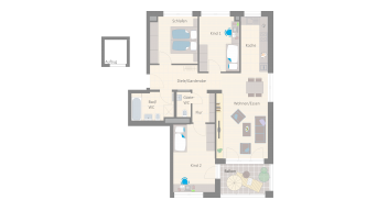 Leonberg 4 1/2 Zimmer A9-7B