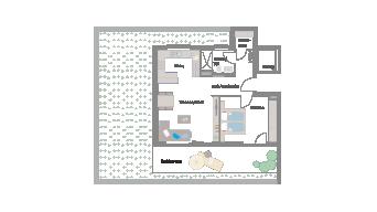 Murr 2 1/2 Zimmer E7-11A