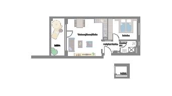 Murr 2 1/2 Zimmer E7-9F