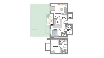Möglingen 3 1/2 Zimmer B7-2D