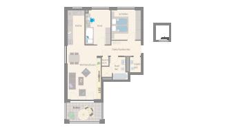 Leonberg 3 1/2 Zimmer A9-6A