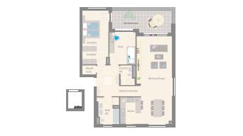Leonberg 3 1/2 Zimmer A9-11D
