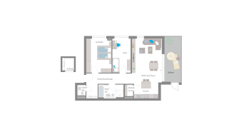 Leinfelden-Echterdingen 3 1/2 Zimmer S7-11