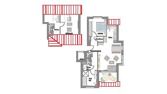 Möglingen 3 1/2 Zimmer Maisonette B7-5B