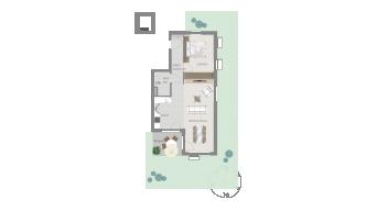 Ellental , 2 1/2 Zimmer, L8-W1