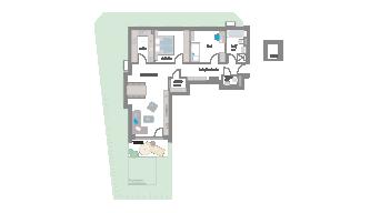 Murr 3 1/2 Zimmer 3D