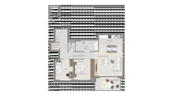 Sachsenheim 3 1/2 Zimmer H8 - 6B