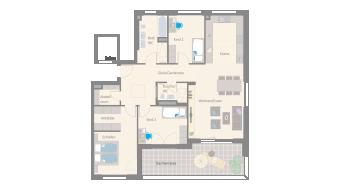 Leonberg 4 1/2 Zimmer D9-10E