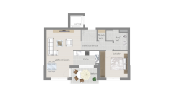 Sachsenheim 2 1/2 Zimmer H8 - 5C