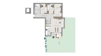 Möglingen 4 1/2 Zimmer U7-1A