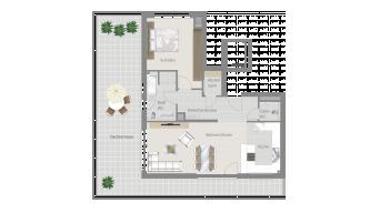 Möglingen 2 1/2 Zimmer U7-8A