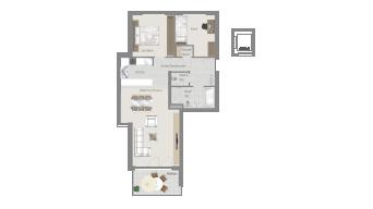 Sachsenheim 3 1/2 Zimmer H8-9A