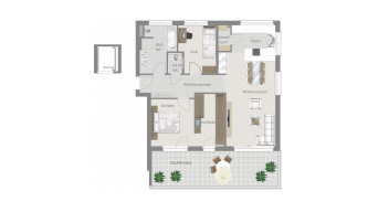 Möglingen 3 1/2 Zimmer U7-7A