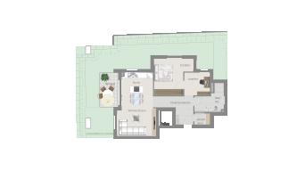 Ludwisburg, 2 1/2 Zimmer C8-2C