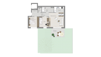 Leonberg 3 1/2 Zimmer C9-6A