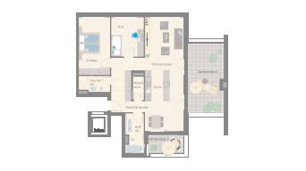 Leonberg 3 1/2 Zimmer D9-11A