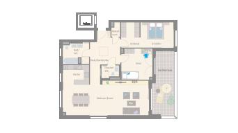 Leonberg 3 1/2 Zimmer D9-11G