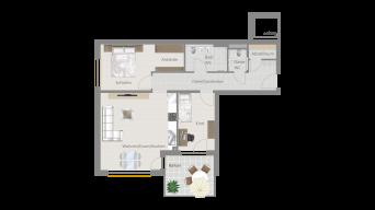 Sachsenheim 3 1/2 Zimmer P8-W14