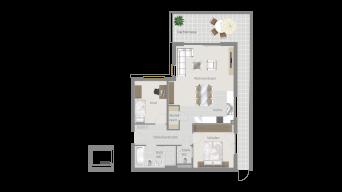 Sachsenheim 3 1/2 Zimmer P8-W16