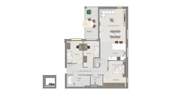 Sachsenheim 4 1/2 Zimmer P8-W6
