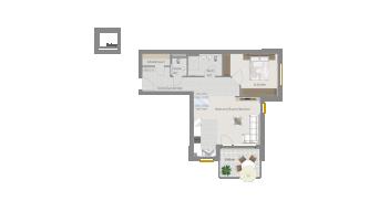 Sachsenheim 2 1/2 Zimmer P8-W7
