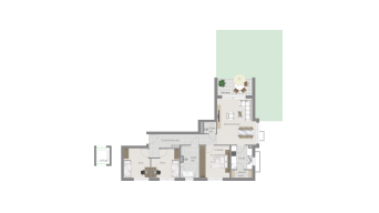 Kornwestheim 4 1/2 Zimmer Q8 - 4A