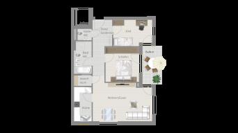 Löchgau 3 1/2 Zimmer Z8 – 5B