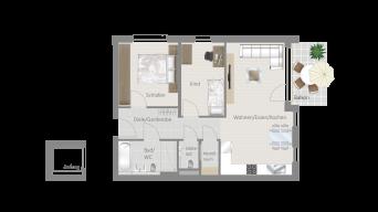 Löchgau 3 1/2 Zimmer Z8 – 6A