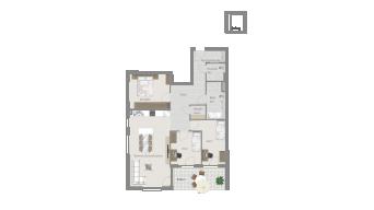 Löchgau 4 1/2 Zimmer Z8 - 7D