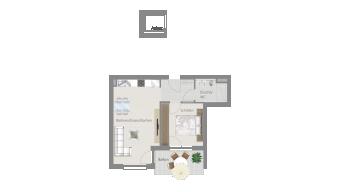 Löchgau 2 1/2 Zimmer Z8 - 8A